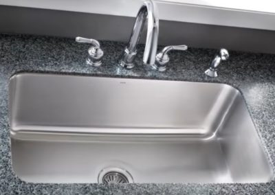 sink installation and repair services